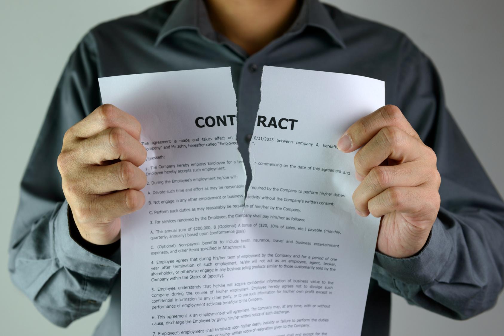 Расторжение срочного трудового договора